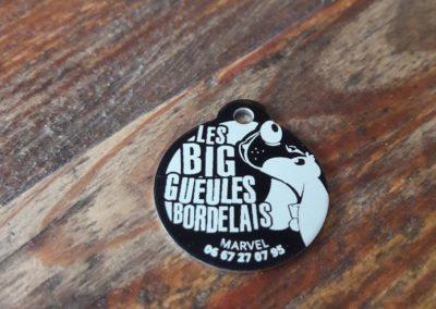 Médaillons – Les Big Gueules Bordelais
