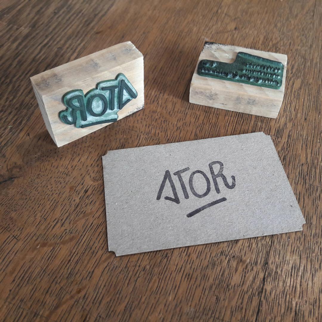 Tampon personnalisé pour ATOR
