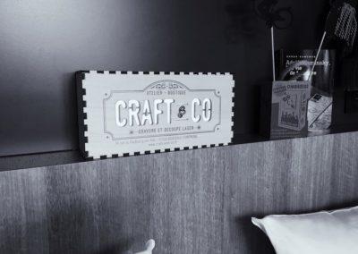 Enseigne lumineuse – Craft & Co