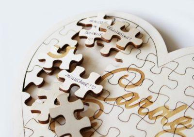 Livre d'or – Puzzle
