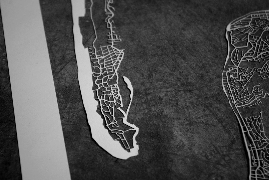 Découpe laser Bassin d'Arcachon laser sur papier collection Craft & Co