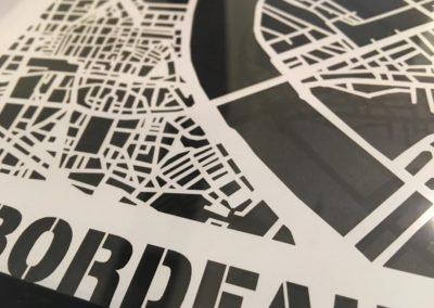 Bordeaux – découpe papier