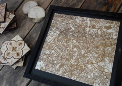 Paris – Plan bois