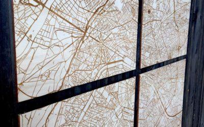 Quadriptyque Paris – Carte «Hit the Road» by Craft & Co