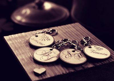 Porte-clés Mariage