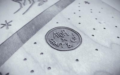Skate gravé par laser – Ator x Craft & Co
