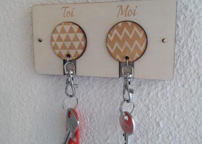 Range-clés Toi&Moi