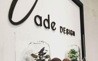 Jade Design – une signalétique murale pour leur showroom