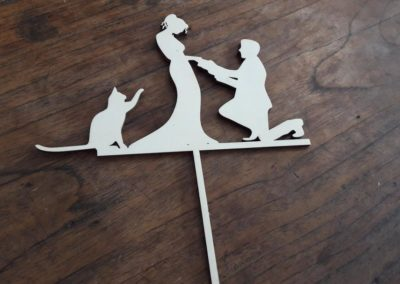 Cake topper – M-Création Events