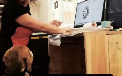Skate personnalisé pour Marvel Ze Super Beagle – chien skateur professionnel