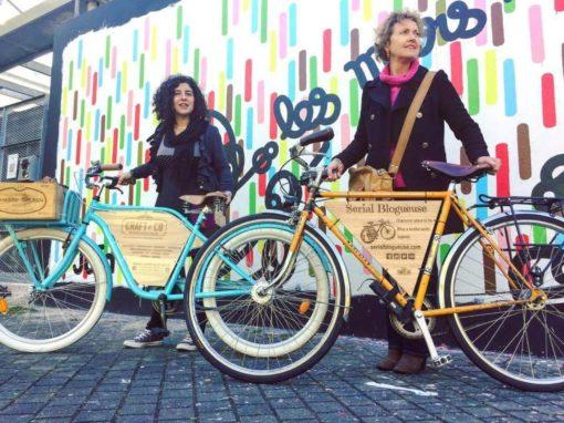 Vélos customisés – Stop-trottoirs – Totems