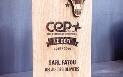 Trophées en bois massif pour l'Agence I-Communication