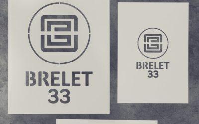 Des pochoirs sur-mesure pour le Groupe de services évènementiels Brelet