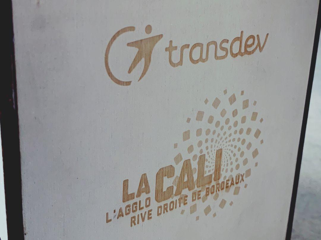 Coffret reponse à appel d'offre pour transdev et calibus imprimerie laplante sur mesure gravure et decoupe laser