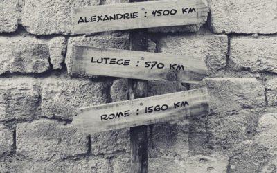Flèches signalétiques pour le marathon du Médoc – Château Pédesclaux