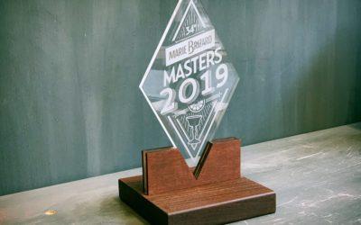 Nouveaux trophées pour la compétition internationale Masters de Marie Brizard