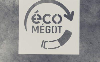 Des pochoirs sur-mesure pour Eco-Mégots