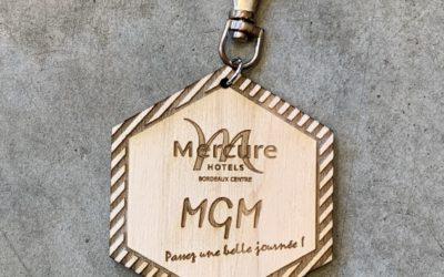 Porte-clés pour l'hôtel Mercure Bordeaux Centre