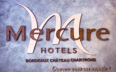 Décoration sur-mesure pour l'Hôtel Mercure Bordeaux Château Chartrons