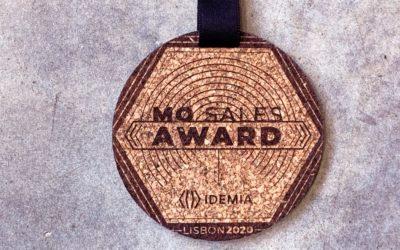Médailles en liège pour une convention Idemia