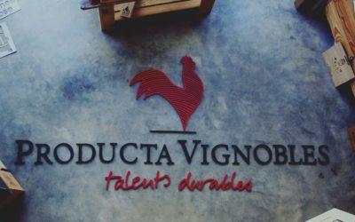 Signalétique de stand pour Producta Vignobles