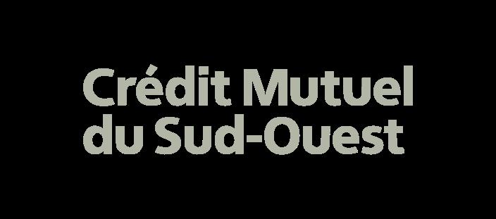 logo - credit mutuel du sud ouest