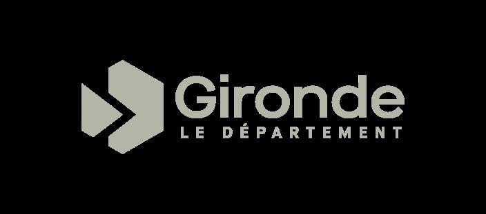logo - conseil departemental gironde