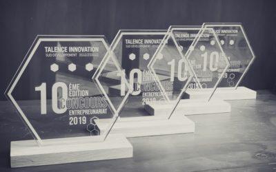 Trophées du Concours de l'Entreprenariat pour Talence Innovation Sud Développement