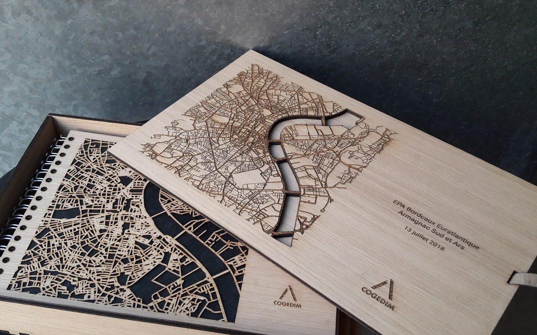 VIEWS Multimédia – Coffret et classeurs en bois pour réponse à appel d'offre