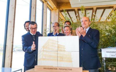 Groupe Pichet – un objet inaugural pour Perspective- le bâtiment bois le plus haut de France