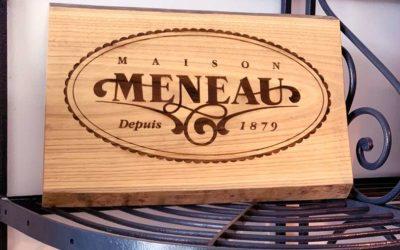 Décoration et signalétique : la nouvelle boutique de la Maison Meneau